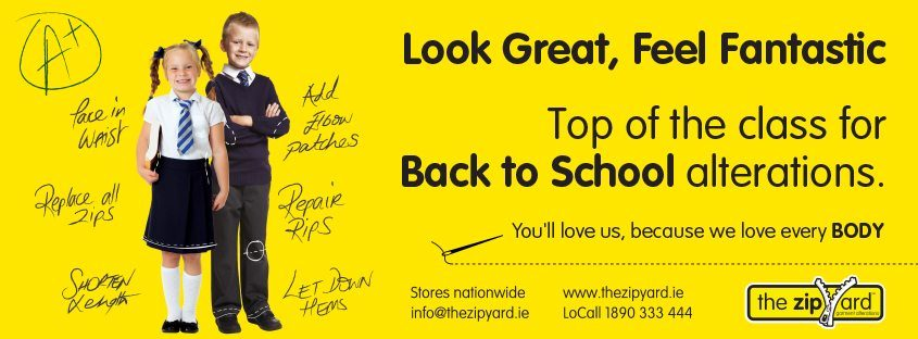 Top of the class for Back to School Alterations
