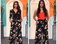 Jumpsuit to High Waisted Trousers